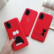 Samsung A31 A01 A10s A20s A30s A50s A51 A71 Shockproof Silicone Case Back Cover