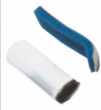 MCK Finger Splint Curved Padded Aluminum / Foam Left or Right Hand Silver M