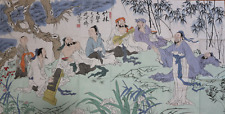 RARE LARGE Chinese 100%  Handed Painting By Fan Zeng 范增 WEDD25