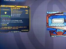 "New raid shield ""Re-Charge Berner"" - Borderlands 3 (PS4) Maliwan Takedown Shield"