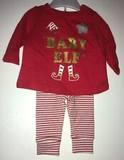 UNISEX BABY ELF OUTFIT BNWT NEWBORN CHRISTMAS OUTFIT XMAS GIFT PRESENT