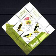 Costa Rica 2010 oiseaux bloc feuillet neuf ** 1er choix
