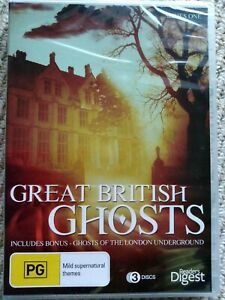 Great British Ghosts Series 1 DVD 3-Disc Set Brand NEW Sealed Fast FREE postage