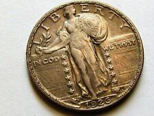 1926 S  STANDING LIBERTY QUARTER, NICE AU