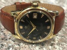 VINTAGE 1958 SS/GOLD CAPPED OMEGA SEAMASTER REF 2766-3 WATCH.