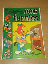 NEW FUNNIES #154 FN (6.0) ANDY PANDA WOODY WOODPECKER DELL COMICS DECEMBER 1949
