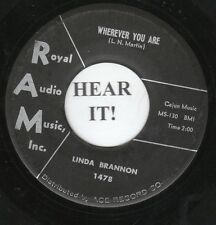 Linda Brannon TEEN 45 (RAM 1478) Wherever You Are/Just Another Lie