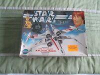 Kenner Star Wars Luke Skywalker X Wing Fighter Kit Form. Unmade Very Rare.