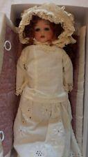 """Antique Heubach Koppelsdorf 275 11/0 Bisque Head Doll 15"""" Germany Circa 1900-20"""