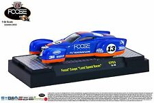 "1:64 M2 Machines CHIP FOOSE 3 = Blue Foose Coupe ""LAND SPEED RACER* NIB!"