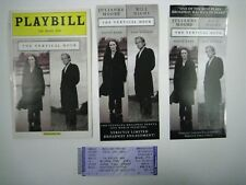 The Vertical Hour Playbill 2007 The Music Box Ticket Julianne Moore Bill Nighy