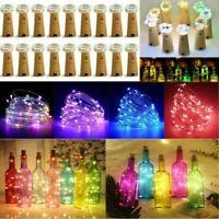 LED Cork 15/20/30/50 Lights String Bottle Stopper, Lamp, Light, Wedding Event Pb