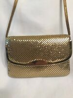 Vintage Gold Beaded Hand Bag Purse