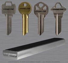 Locksmith CUSTOM Steel Hand Stamp KEY MARKING Safe Security Metal Punch/Tool/Die
