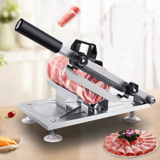 Stainless Steel Manual Frozen Meat Slicer Mutton Ham Beef Cutter Cutting Machine