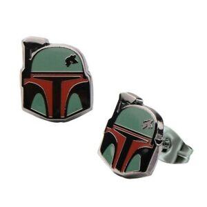 Star Wars Boba Fett's Helmet Stud Earrings