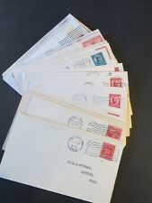 *51* DIFFERENT Two Cent Red Era First Day Covers Scott# 645/721, un-Cacheted