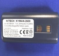 10 Batteries(Japan Li7.4v2.6A)For Datalogic/PSC/Honeywell KYMAN #94ACC1302...eq