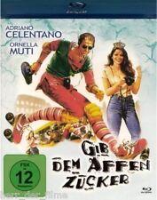 GIB DEM AFFEN ZUCKER (Adriano Celentano, Ornella Muti) Blu-ray Disc NEU+OVP