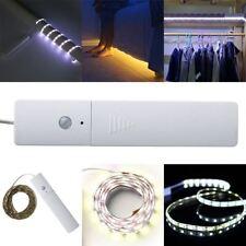 60-led Infrared Sensor Lighting Strip Ribbon Lamp for Closet Wardrobe Bedside 5v