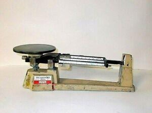 Vintage Lab OHAUS Triple Beam Balance Scale 2610gcapacity-WORKS FINE