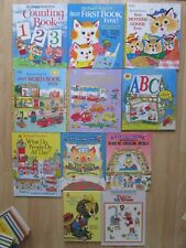 RICHARD SCARRY HC LOT 11~Mother Goose~ABC~Best Word First~Counting~Storybook~