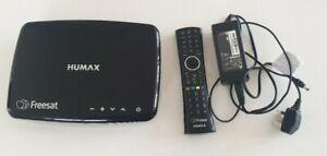 Humax HDR-1100S 1TB Freesat with Freetime HD TV Recorder - Black full kit