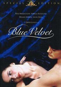 DAVID LYNCH MOVIE 18+_BLUE VELVET DVD_1980s Dennis Hopper_Isabella Rossellini