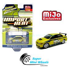 Johnny Lightning Import Heat - 2004 Mitsubishi Lancer Evo Custom Green 1:64