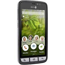 New Doro 824 SmartEasy Consumer Cellular Unlocked GSM Android Smartphone Black