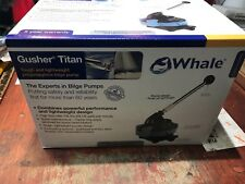 Whale Gusher Titan - Manual bilge pump lightweight and tough