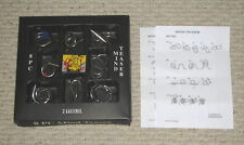 Brain Mind Teasers Benders Puzzles Game Metal IQ Test Toys Challenge 8 Pcs