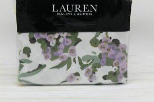 RALPH LAUREN Home Marabella Floral KING Duvet Cover & Shams Set Yellow $385