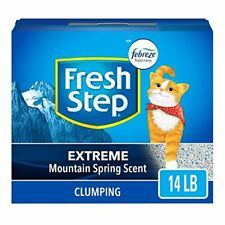 New listing Fresh Step Scented Litter with The Power of Febreze, Clumping Cat Litter – 14