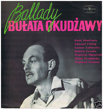 LP RUSSIA BULAT OKUDJAVA BALLADY POLISH ARTISTS