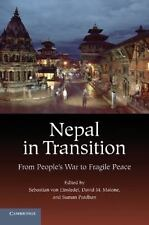Nepal in Transition: From People's War to Fragile Peace (Paperback or Softback)