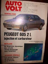 Peugeot 605 4cylindres essence 2.0 : Revue Autovolt 655