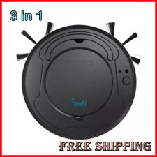 Robot Vacuum Cleaner Multifunctional 3-In-1 Auto Rechargeable Dry & Wet Sweeping