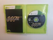 007 Legends - Xbox 360 Game COMPLETE CIB - FAST FREE SHIPPING !!