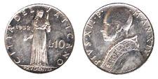 10 Lire 1952 Italma Pio XII Città del Vaticano Vatican City #9192