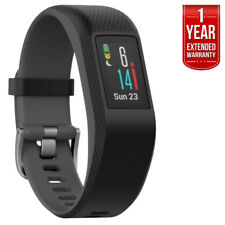 Garmin Vivosport Smart Activity Tracker + GPS (Slate, L) + Extended Warranty