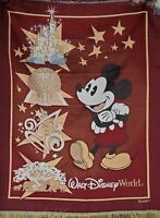 Disney World Parks Tapestry Throw Animal Magic Kingdoms Hollywood Studios Epcot