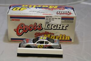 NASCAR Action 1:64 Scale Diecast - Sterling Marlin #40 Coors Light Silver Bullet