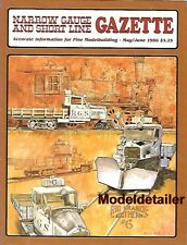 Narrow Gauge Gazette May 86 RGS Work Goose Figures Trolly Car Sawmill V&T Shay