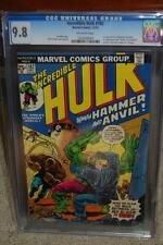 Hulk #182 CGC 9.8 1974 Wolverine! X-Men! #180 & #181 'Trilogy'! D12 104 1 H10 cm