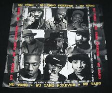 Vintage 1997 Wu Tang Clan Forever T-Shirt Sz XL 90s Hip Hop Rap Tee RZA GZA RARE