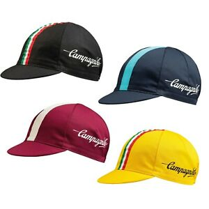 NEW Campagnolo Classic Cycling Cap Ideal Cyclist Gift Made in Italy