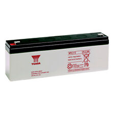 YUASA NP2.3-12 Batteria ermetica al piombo 12V 2,3Ah equivalente a Fiamm FG20201