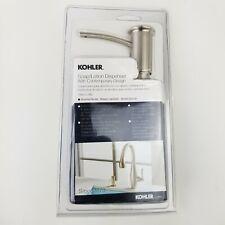 Kohler K-1895-C-BN Brushed Nickel Contemporary Soap and Lotion Dispenser
