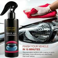 NEW Nano Magic Car Scratch Remover Nano Spray Scratch Eraser Surface Repair120ml